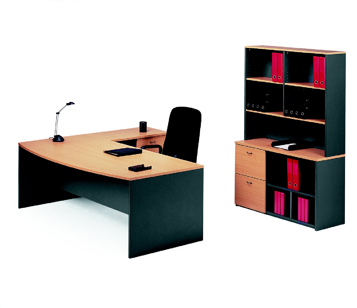 Merlin Executive Desk & Return