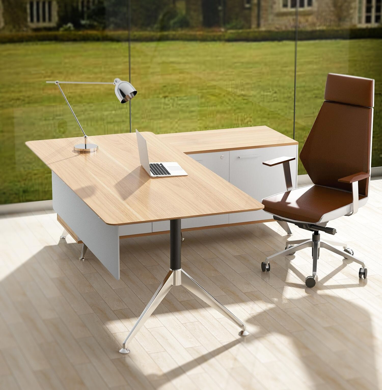 Potenza Desk and Return