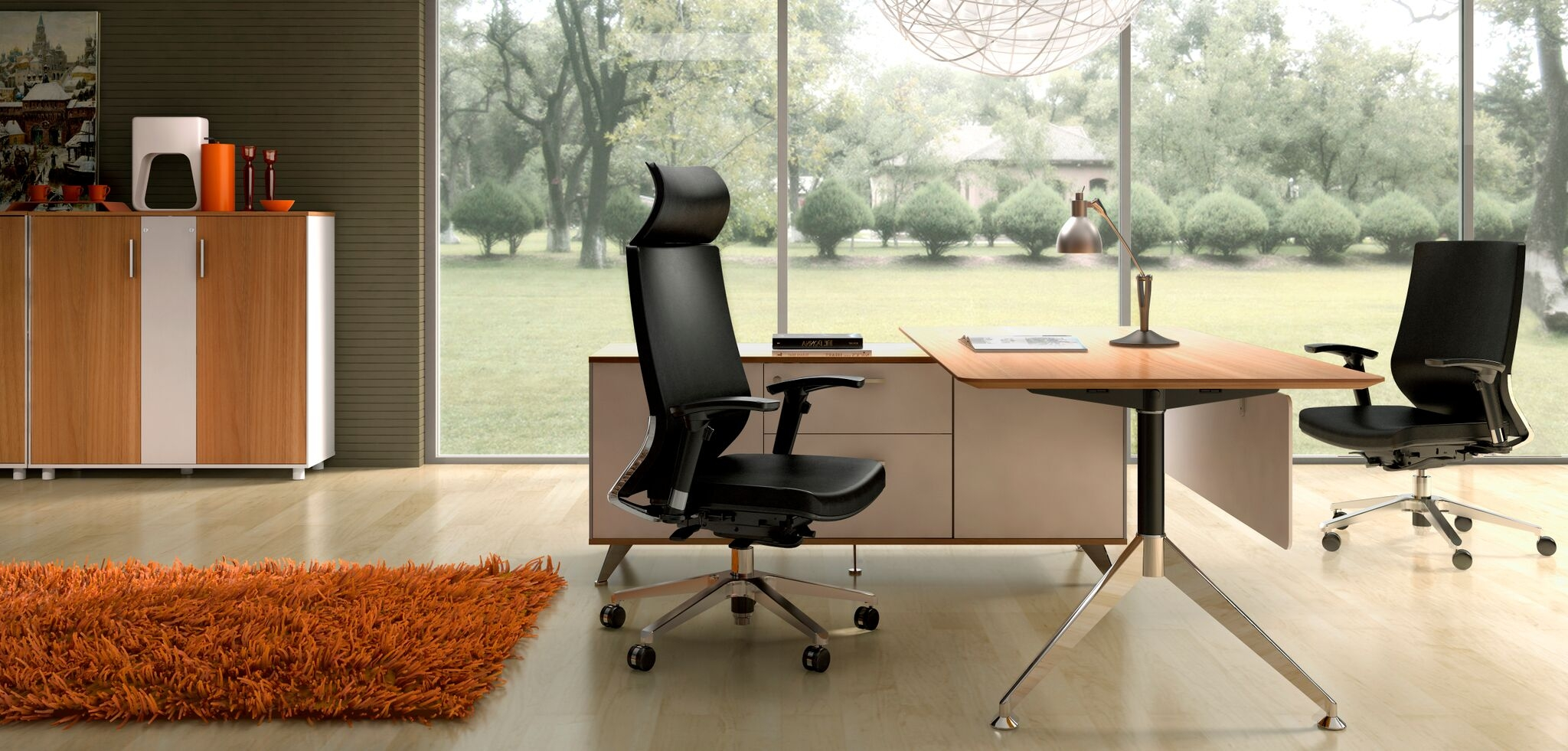 giant office furniture. potenza desk and return giant office furniture e