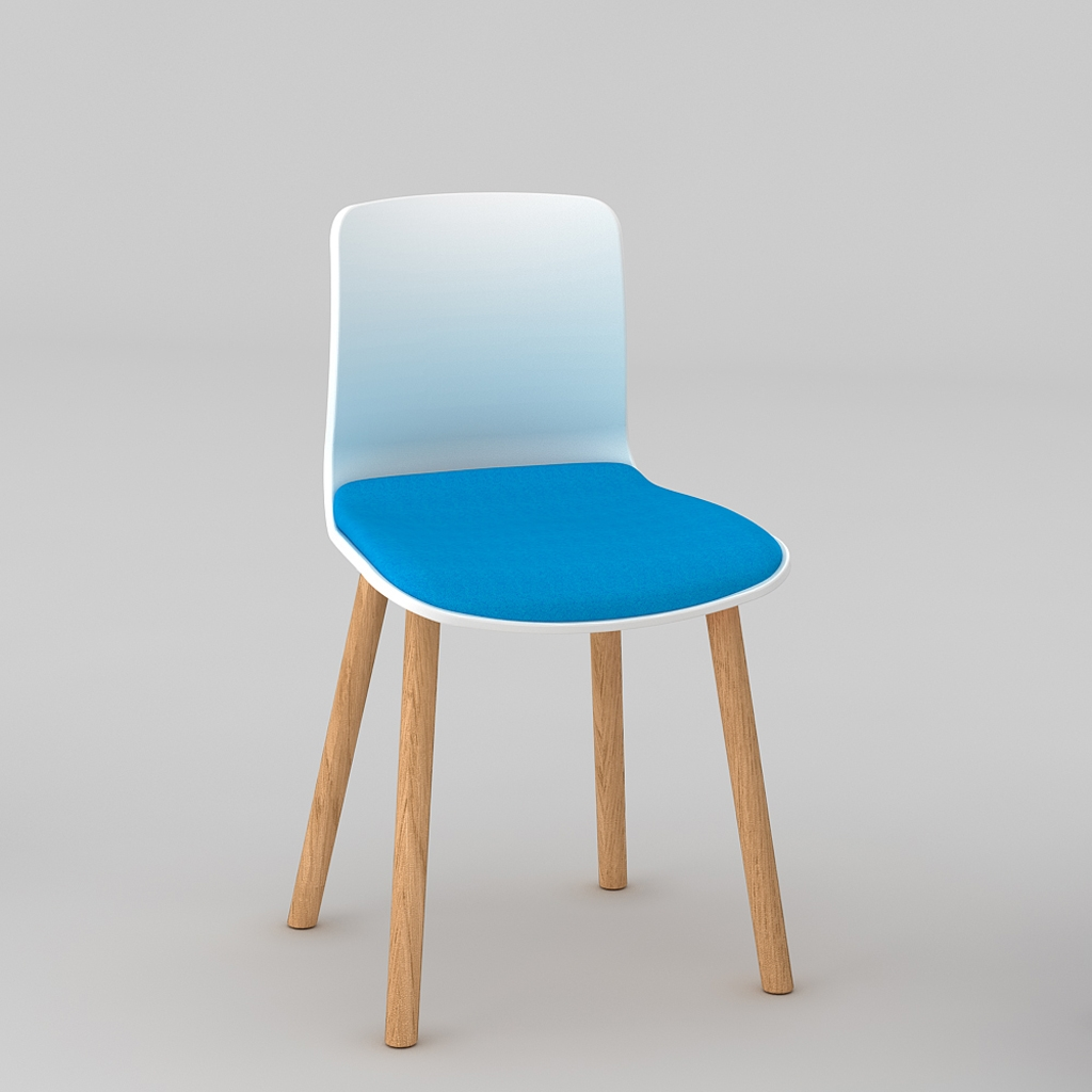 Padded Acti Timber Leg Chair 4T (3)