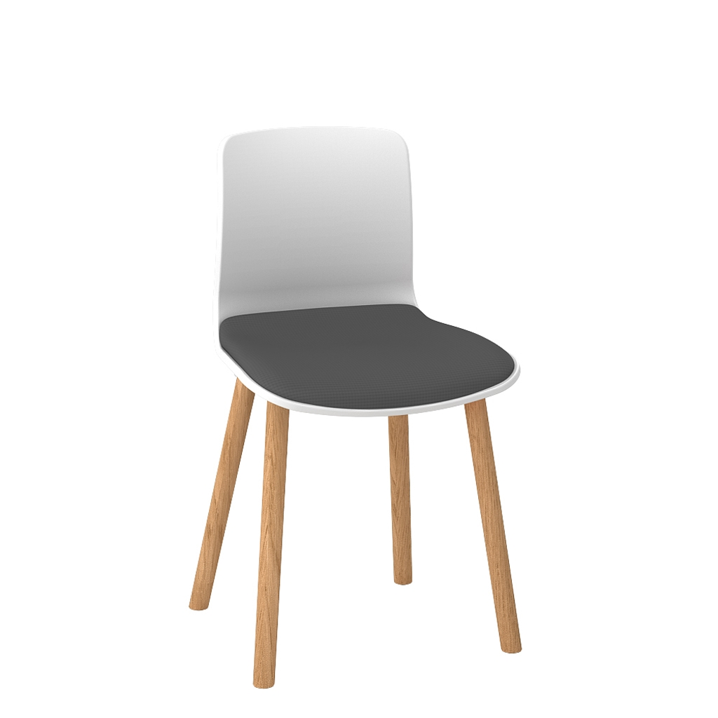 Padded Acti Timber Leg Chair 4T (4)