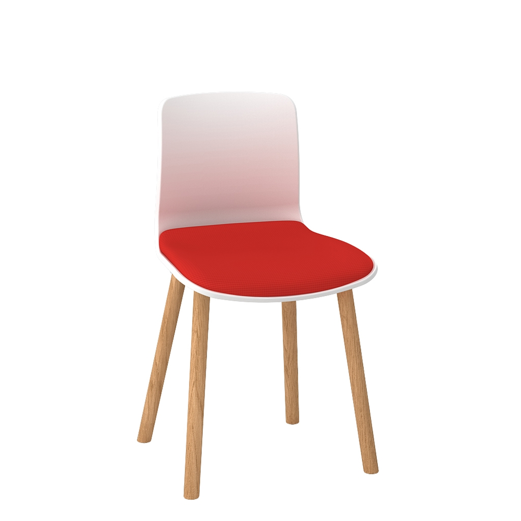 Padded Acti Timber Leg Chair 4T (5)