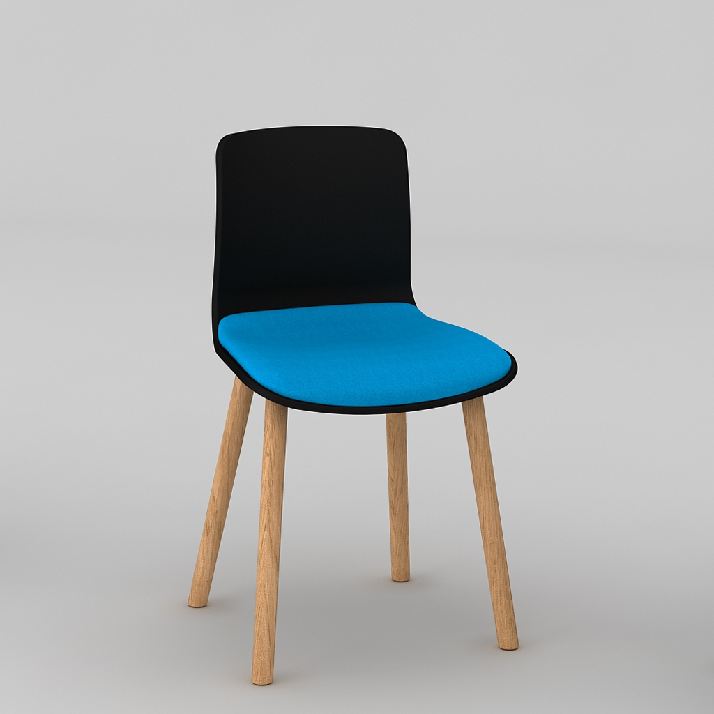 Padded Acti Timber Leg Chair 4T (6)