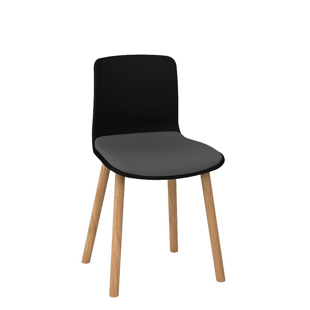Padded Acti Timber Leg Chair 4T (7)