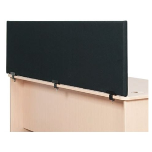 Clamp-on Desk Partitions