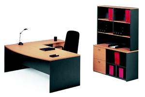 Merlin Executive Desk and Return Suite