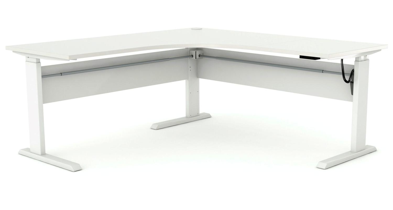 Axis Corner Height Adjustable Desk (2)