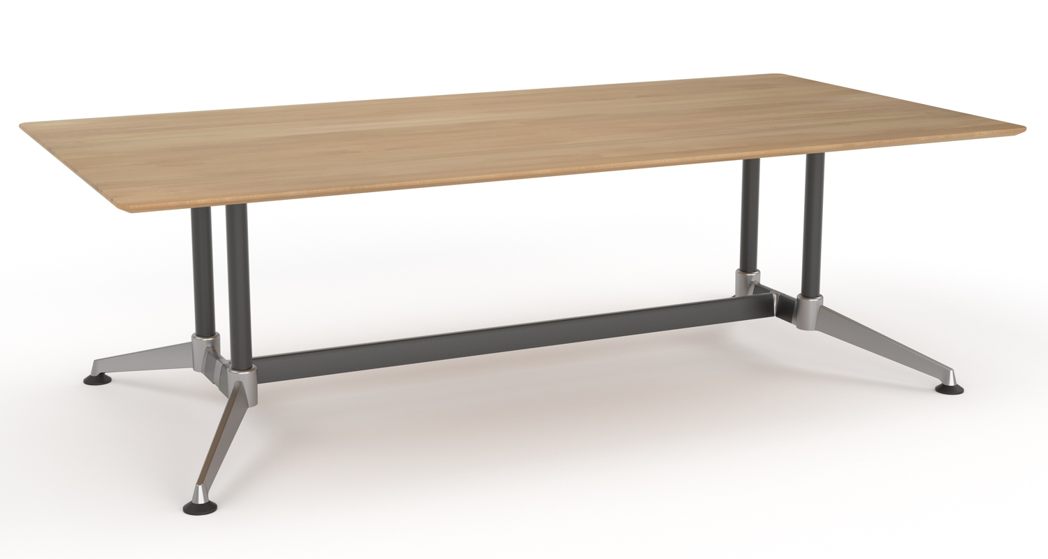 Modulus Boardroom Table Beech 2400x1200