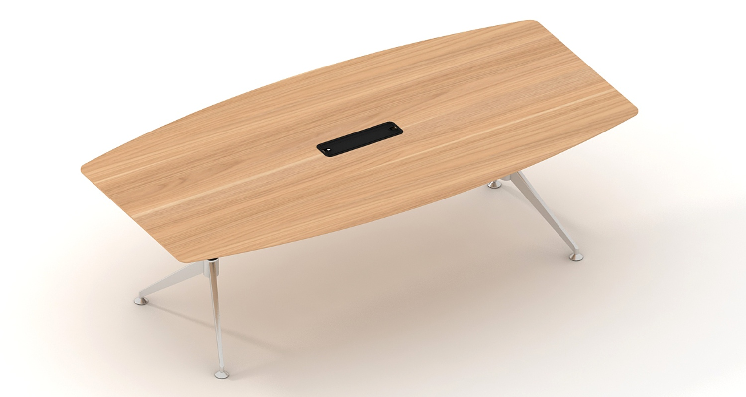 Potenza Boardroom Table 2400mm (2)