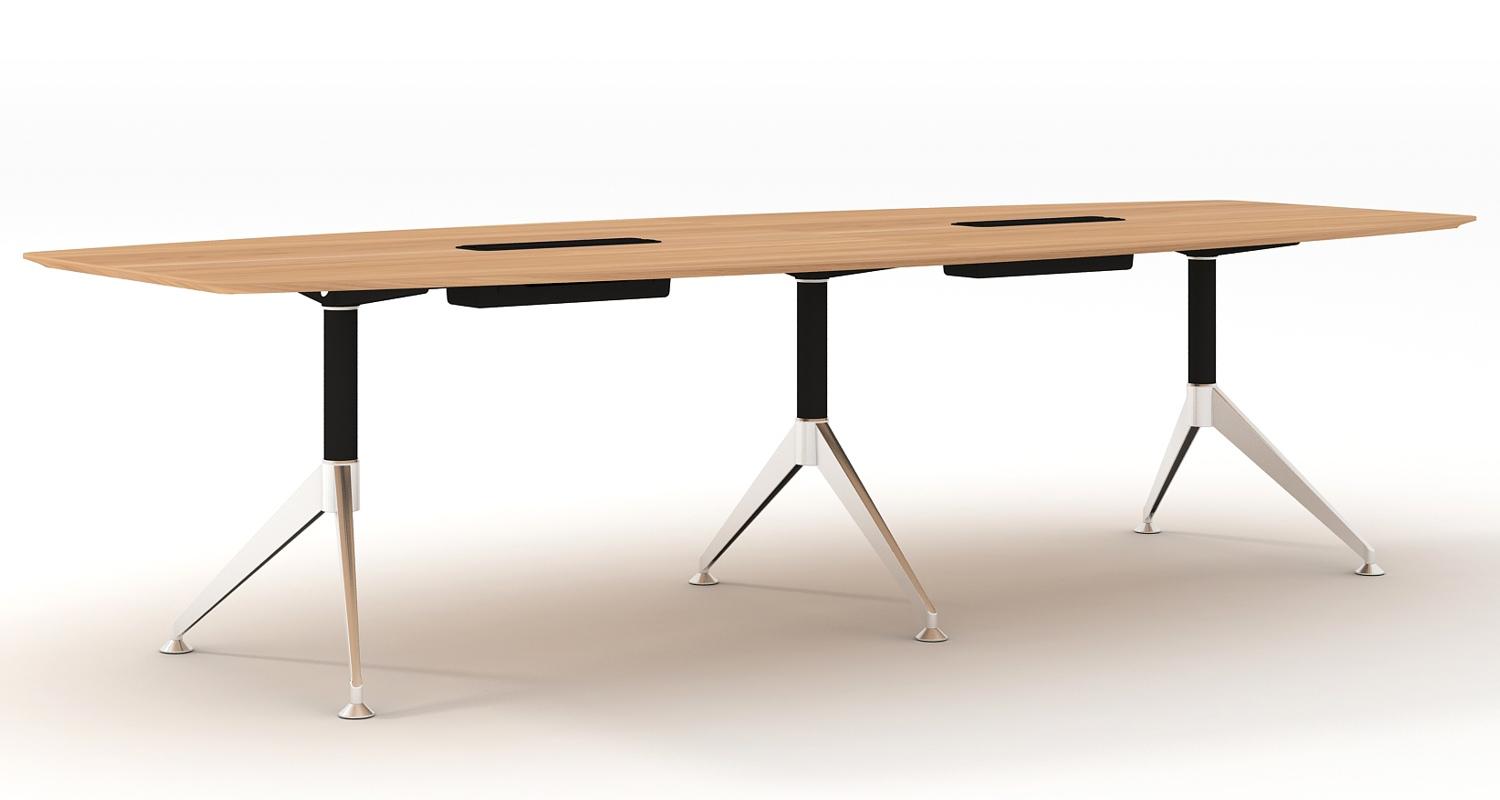 Potenza Boardroom Table 3000mm
