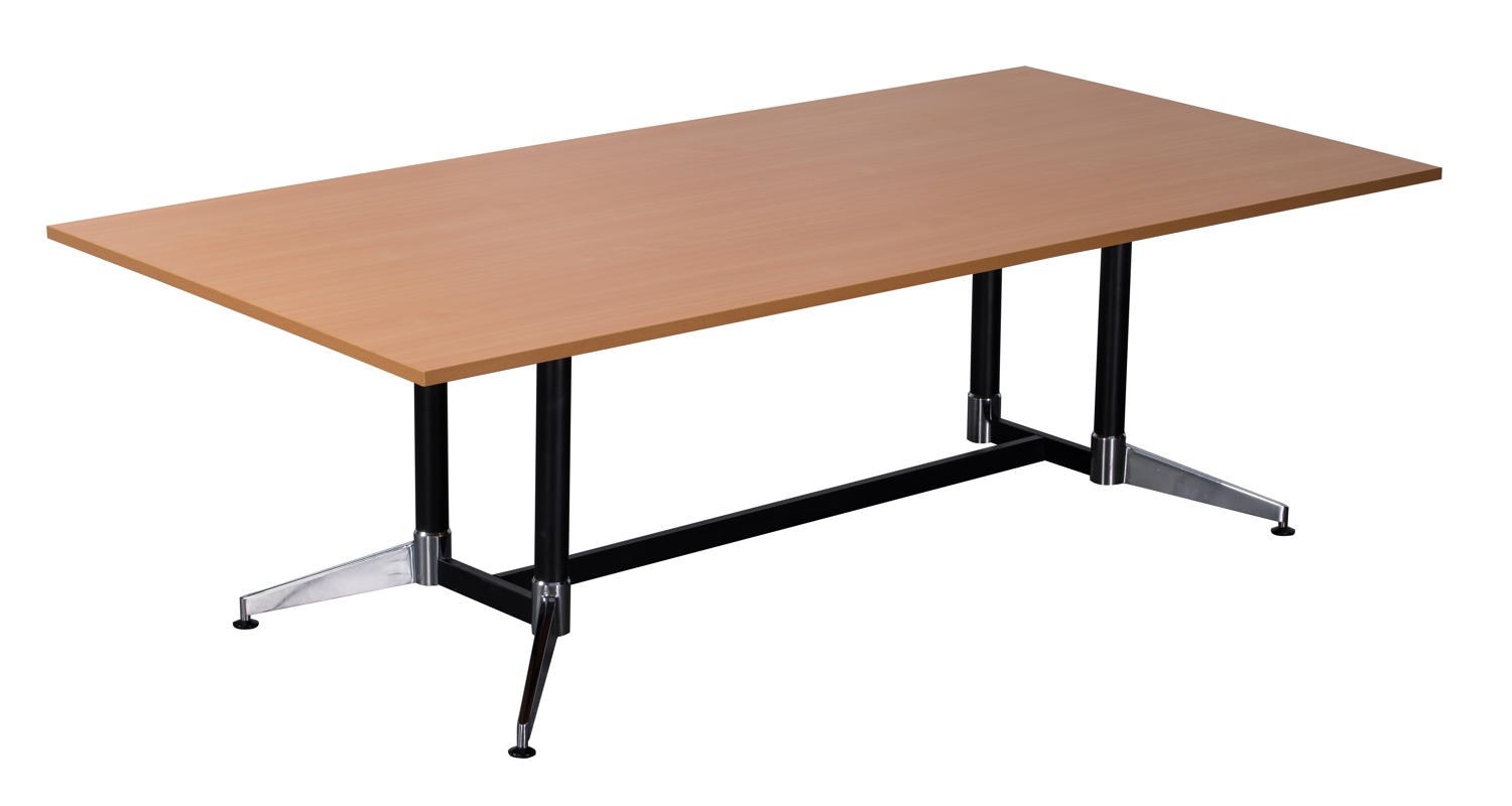 Typhoon Boardroom Table Beech 2400mm