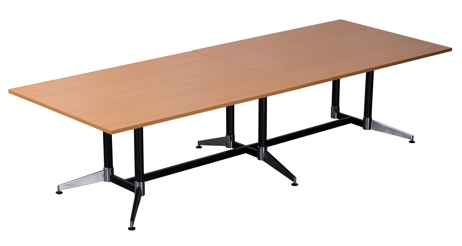 Typhoon Boardroom Table Beech 3200mm