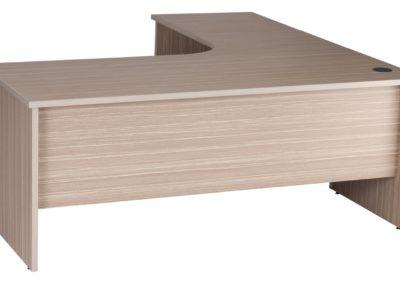 Budget Radial Desk Tawny Line