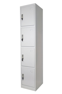 HD 4 Door Locker Single Tier