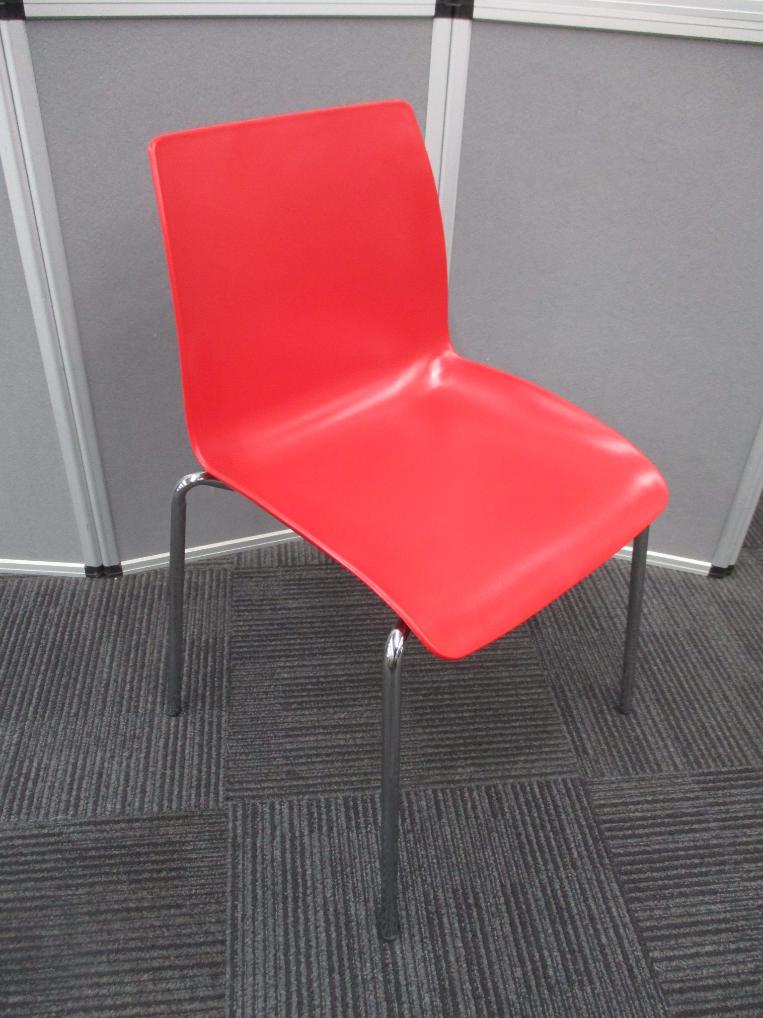 Case Red Stackable Chairs