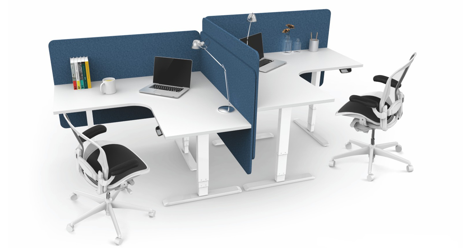 Ergovida Height Adjustable Corner Workstations
