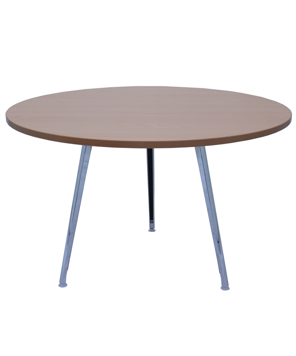 Air Round Table 1200mm Beech Top