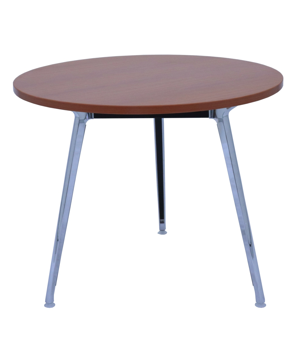 Air Round Table 900mm Cherry Top