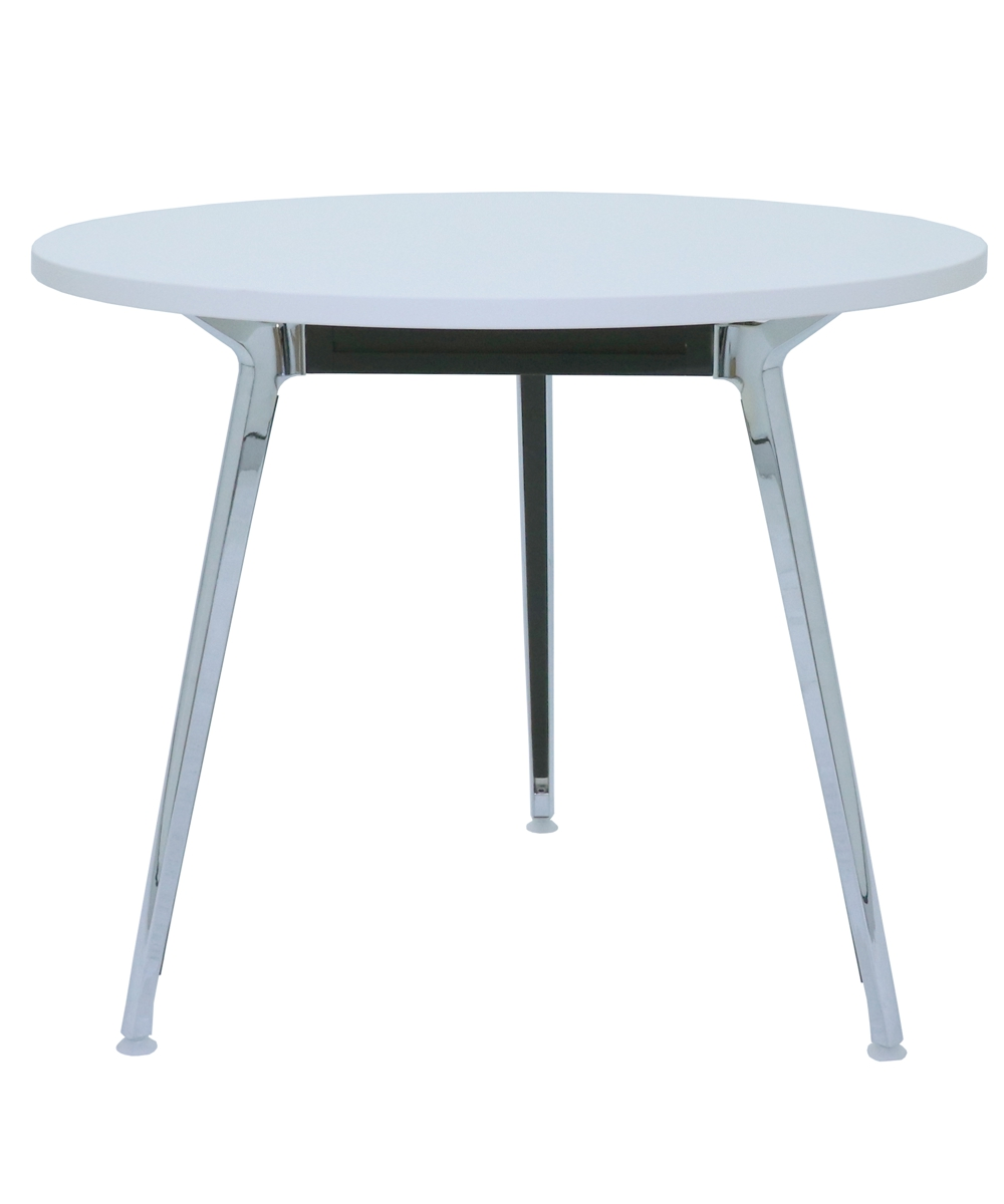 Air Round Table 900mm White Top