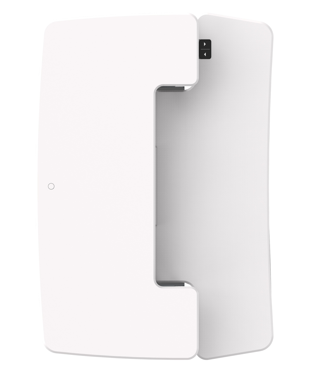 Flux Electronic Riser Small White Top View