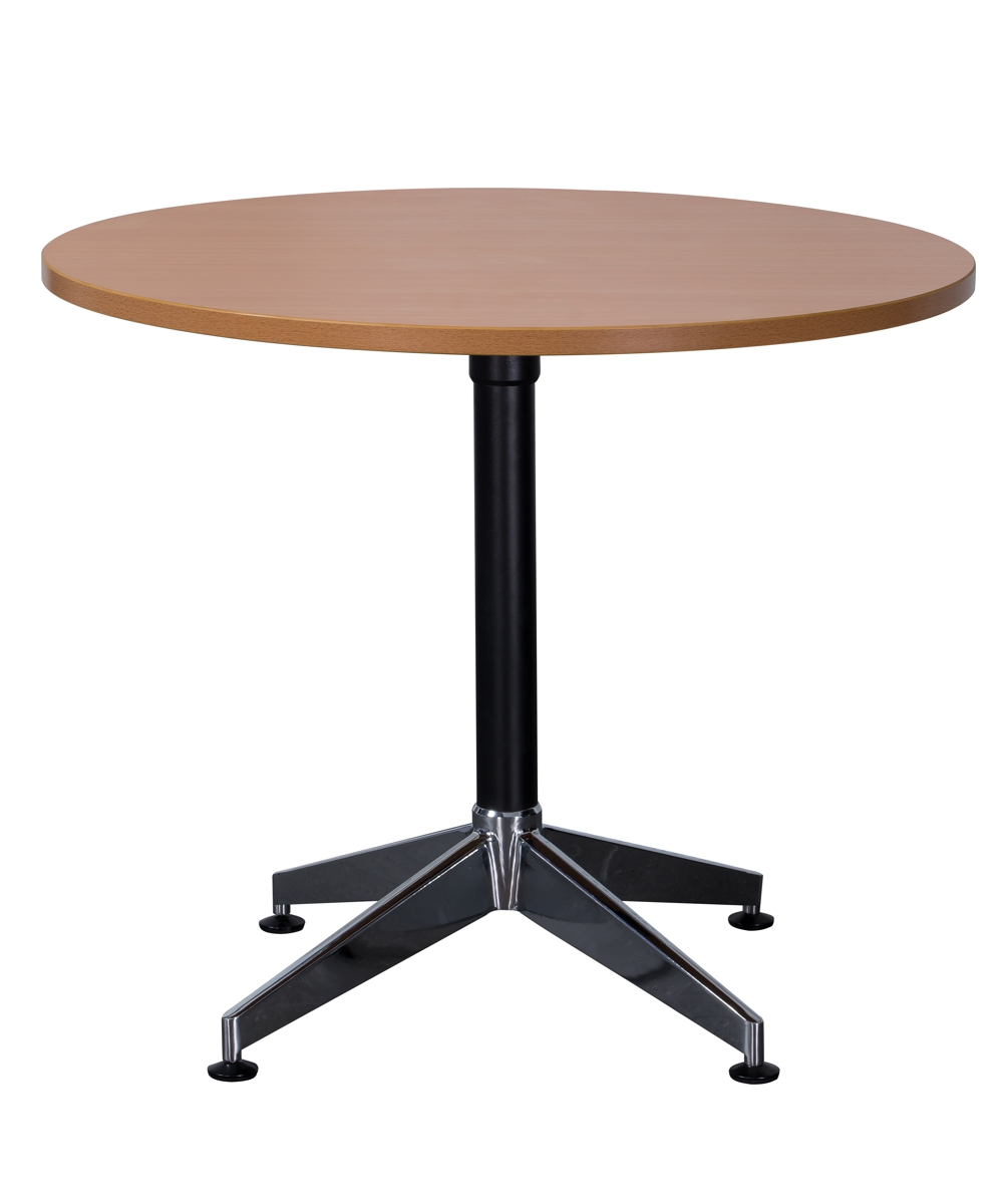 Typhoon Round Table with 900mm Beech Top