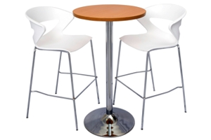 Disc Base Bar Height Tables