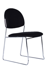Rod Stackable Visitor Chair