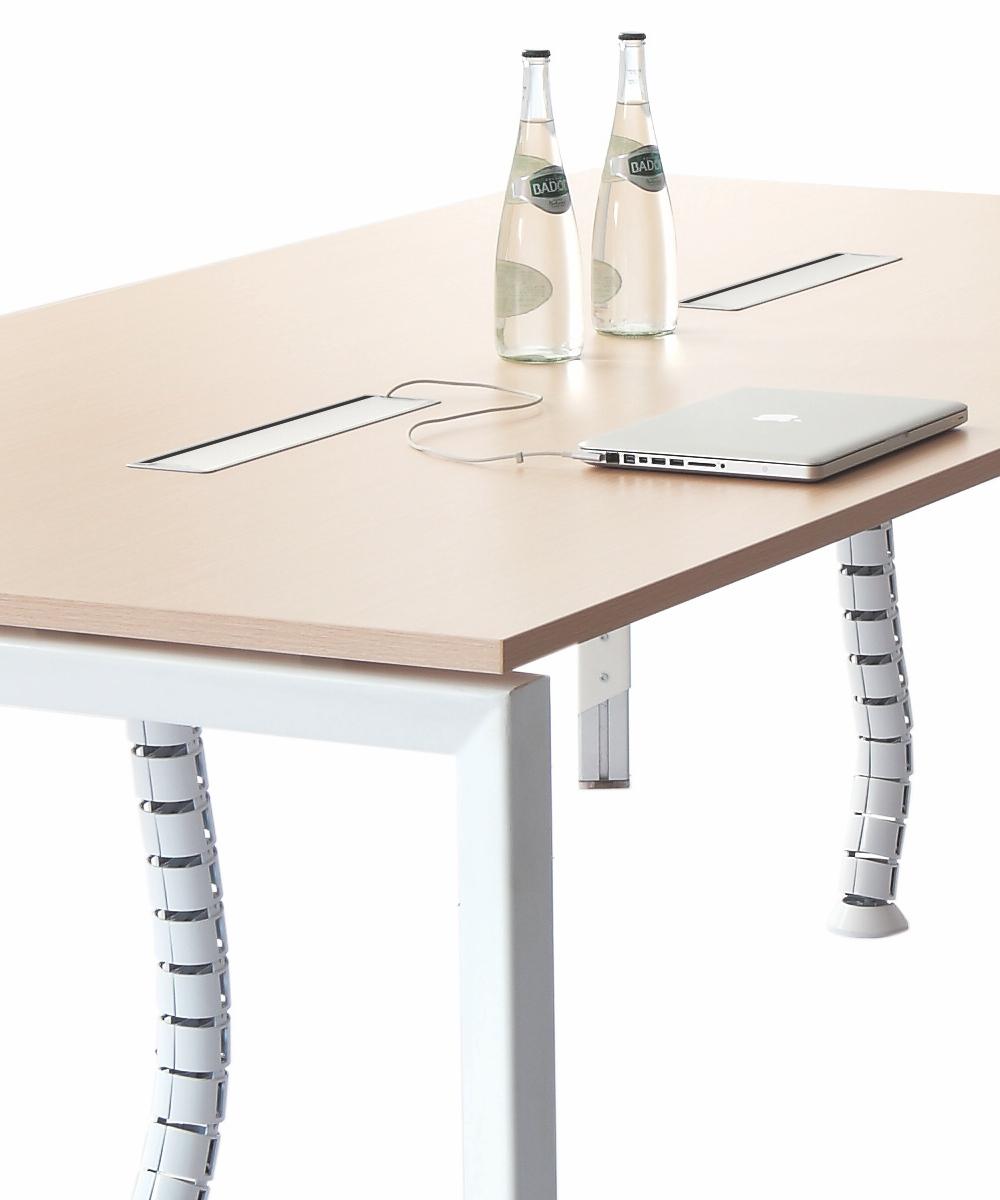 Oblique Boardroom Table 2400 x 1200 (2)