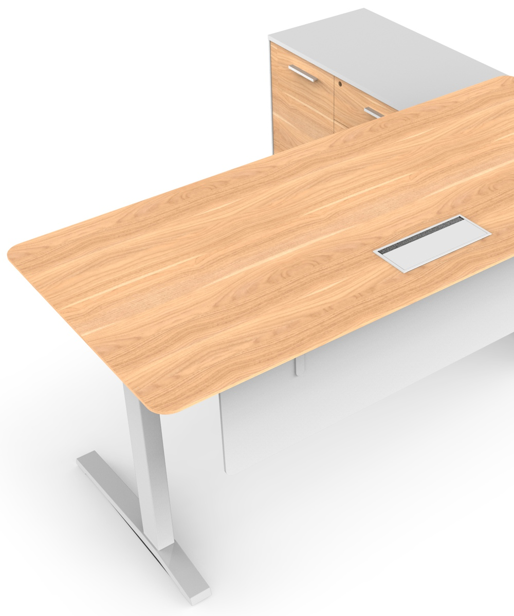 Potenza HA Executive Desk Virginia Walnut (3)