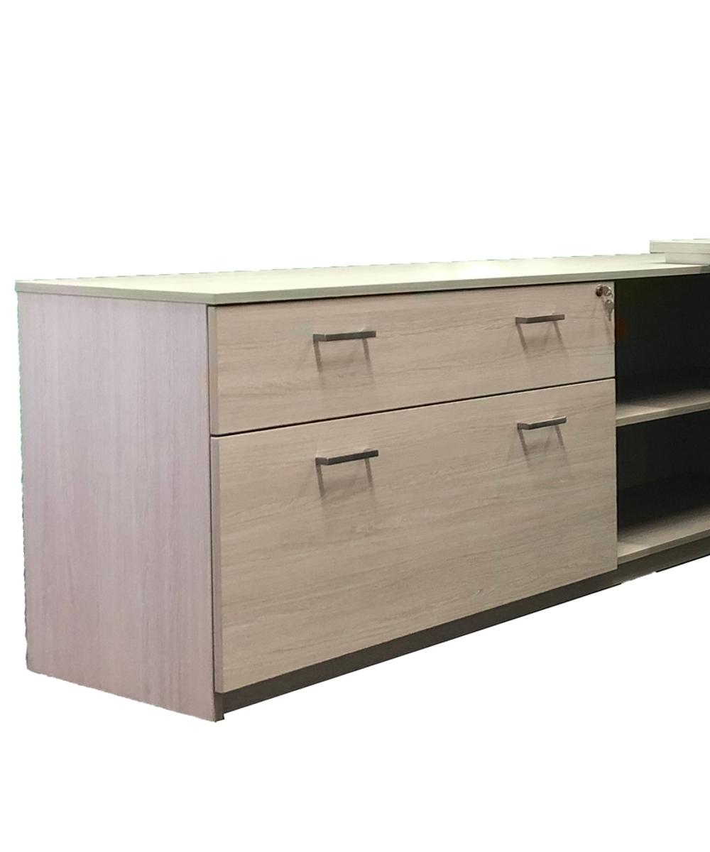 Axiom Executive Desk Integrated Storage