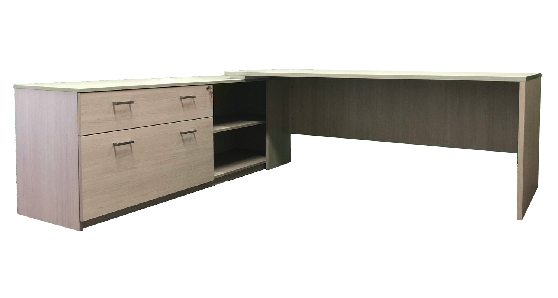 Axiom Executive Desk Slab End