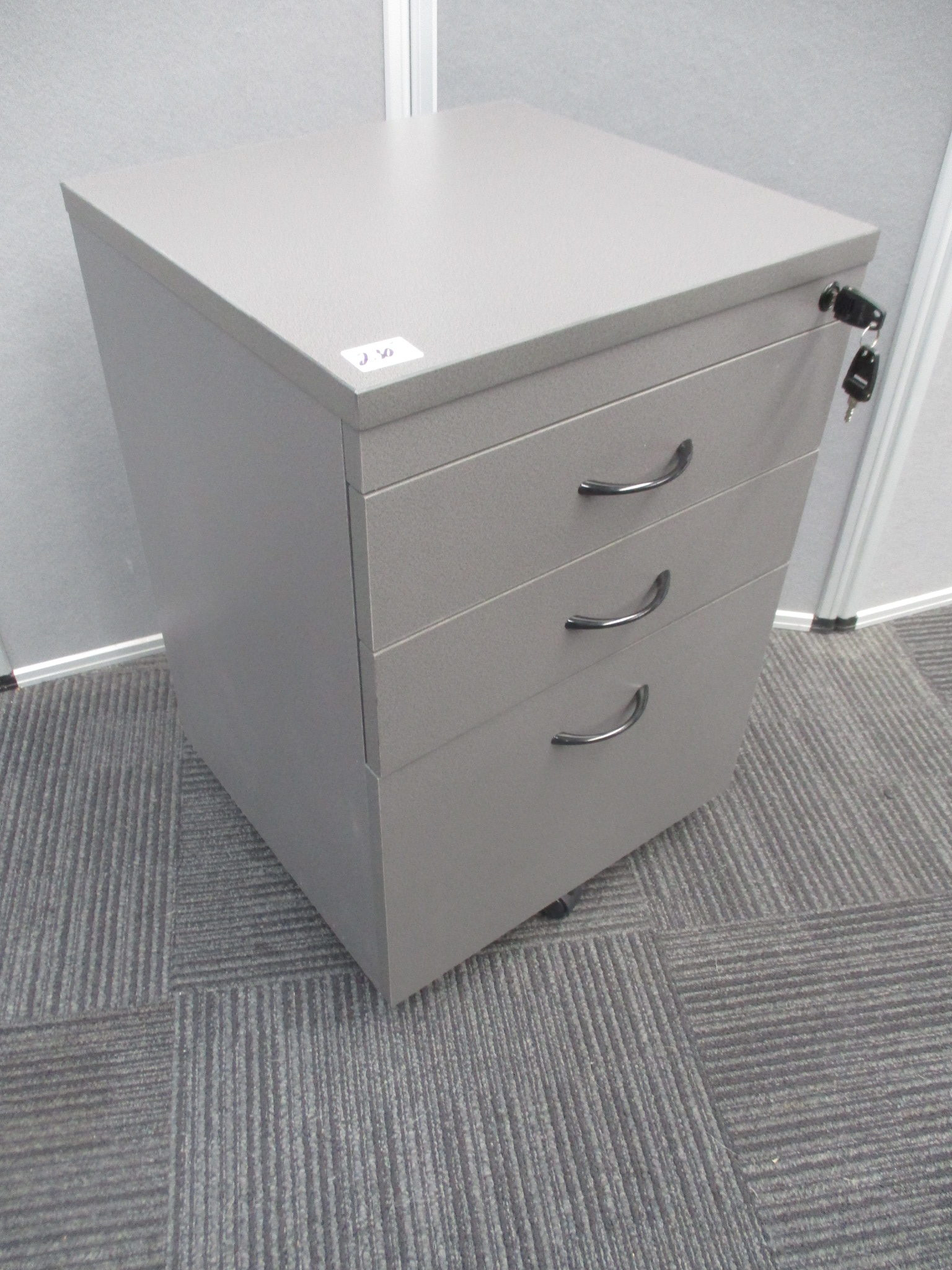 New Ironstone 3 Drawer Mobile Pedestals $230