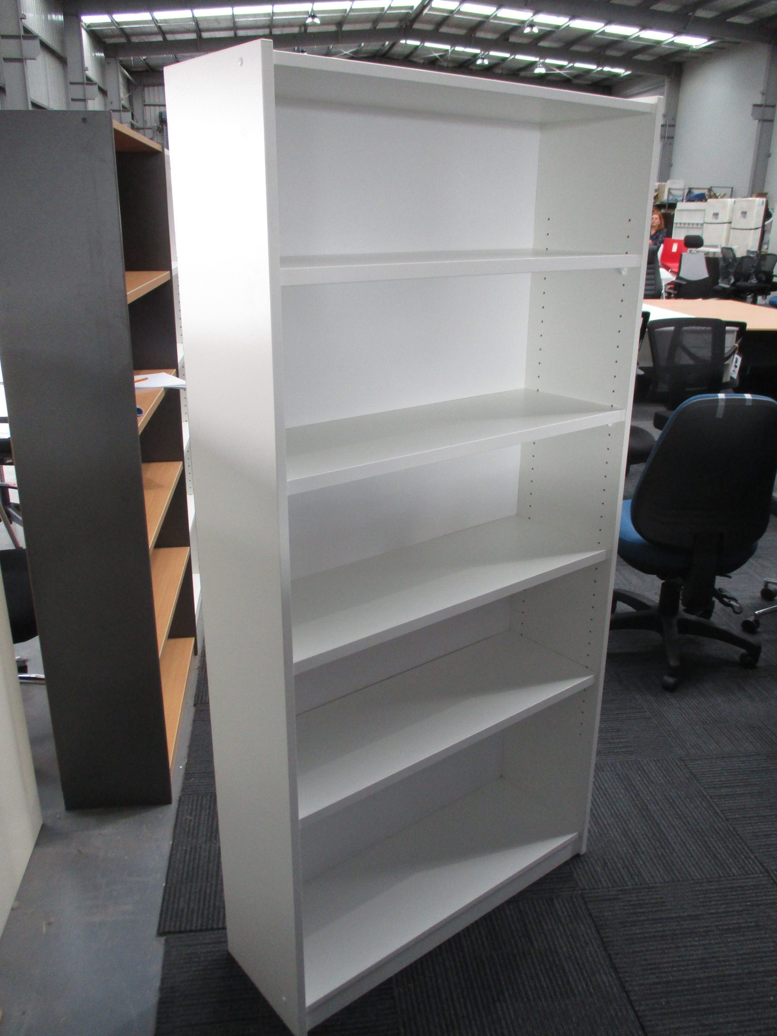 New White Bookcase 1800×900 $245