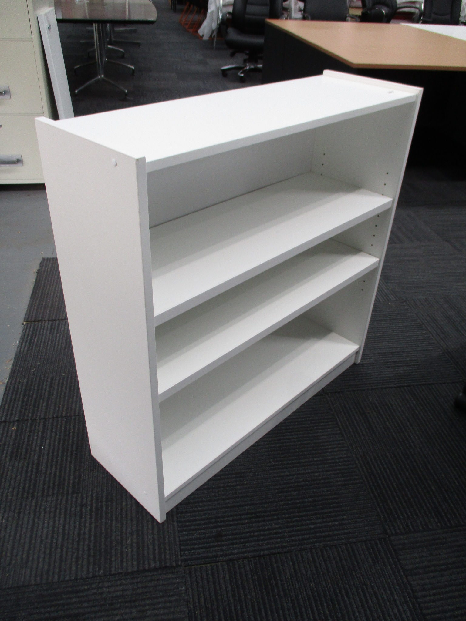 New White Bookcase 900×900 $165