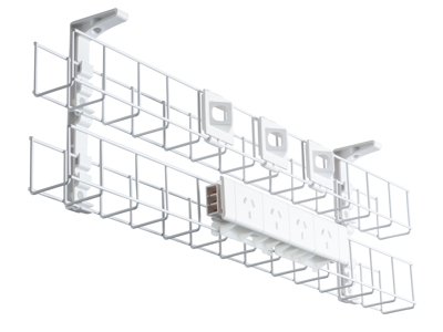 Below Desk Cable Baskets
