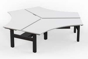 Agile 120 Degree Height Adjustable Desks