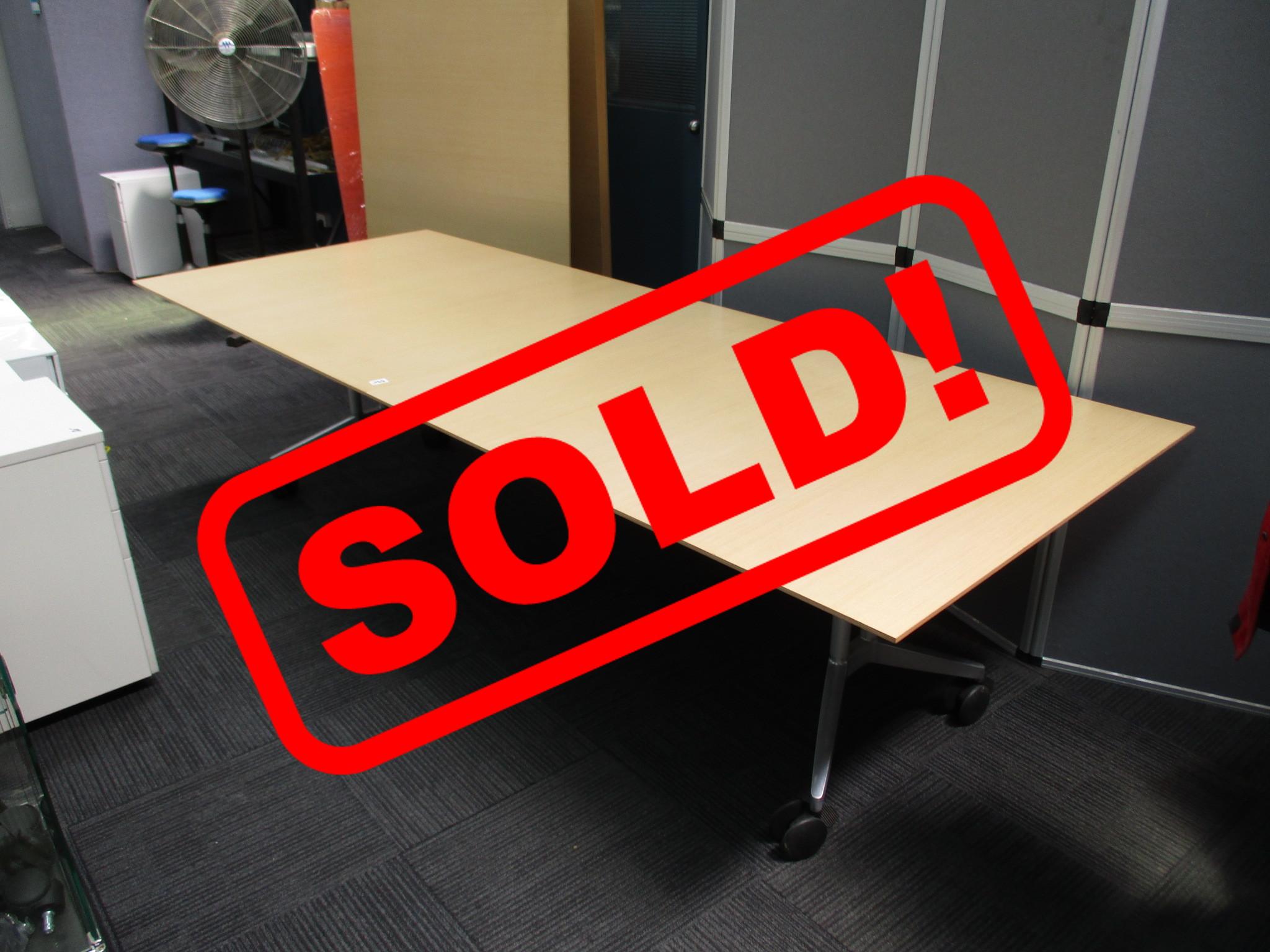 Wilkhahn Folding Tables 2800×1100 $590