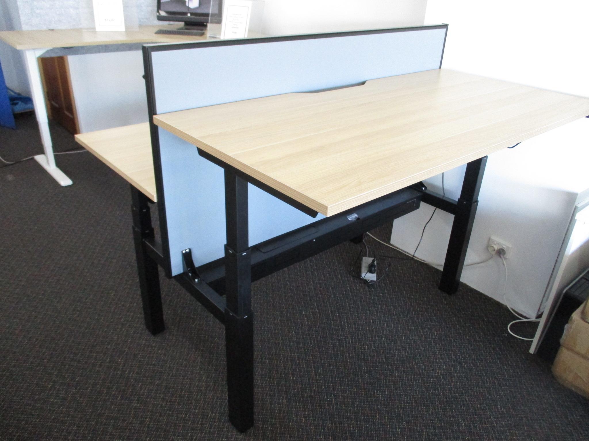 New Paramount B2B Height Adjustable 2 Person Desk $2390