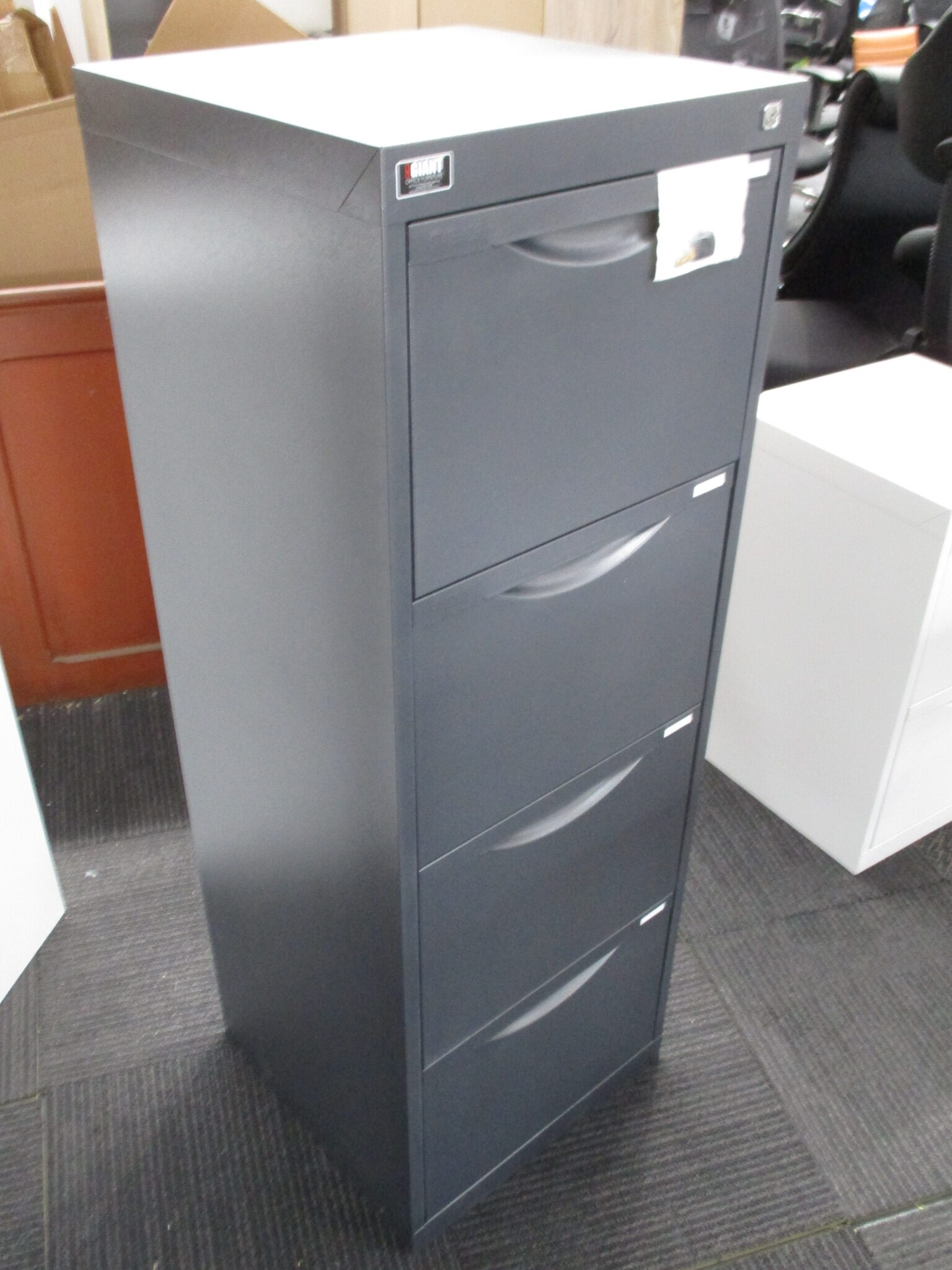 New Graphite Statewide Homefile 4 Drawer Filing Cabinet $325