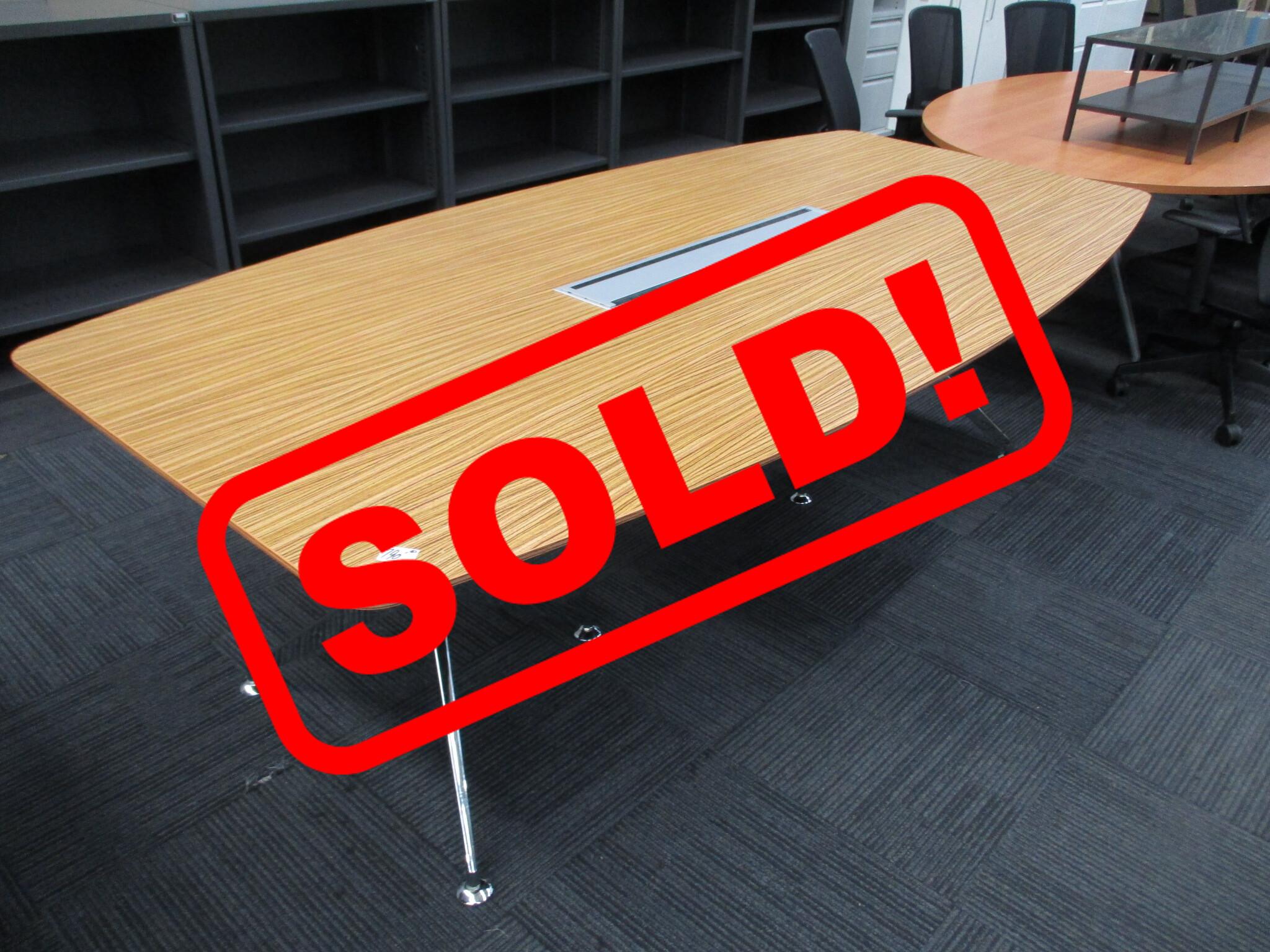 Novara Boardroom Table 2400×1200 $790