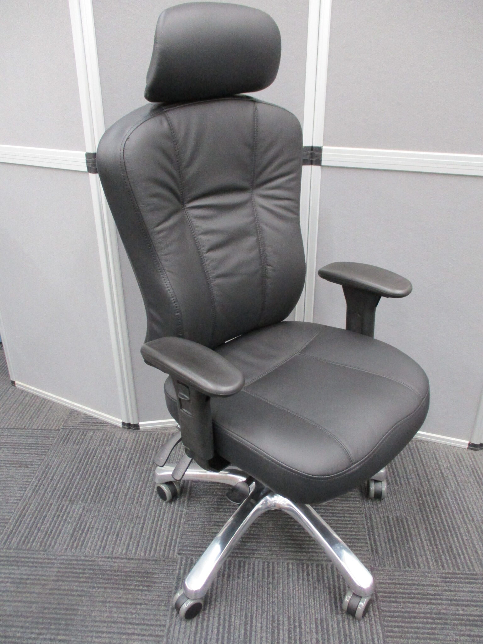 New Multiform Leather Executive Chairs $675