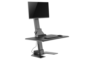 EDT10 Single Monitor Electronic Height Adjustable Workstations