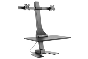 EDT10 Dual Monitor Electronic Height Adjustable Workstations