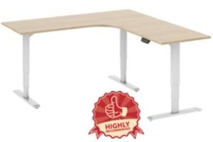 Ergovida Height Adjustable Corner Workstations